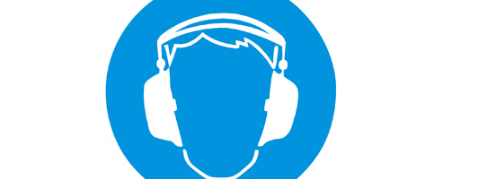 CSCS Health and Safety Signs fo Ear Protection Must be Worn
