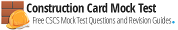 CSCS Mock Test | CSCS Revision | CSCS Test Questions
